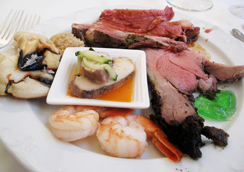 Chinese New Year Brunch at The Terrace in the Pasadena Langham Hotel