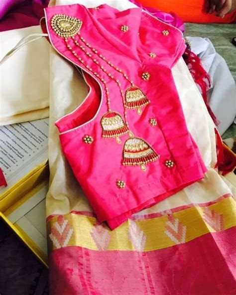 50  Mind blowing Blouse Designs for Wedding Silk Sarees