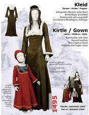 medieval dress pattern ideas  pinterest