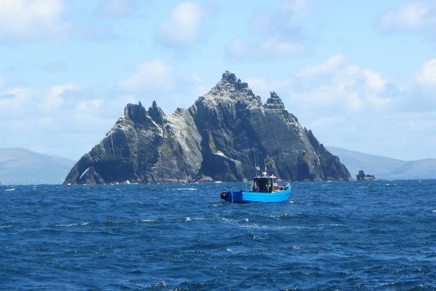Little Skellig: tout en roche