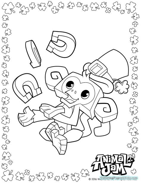 arctic wolf animal jam coloring pages coloring pages