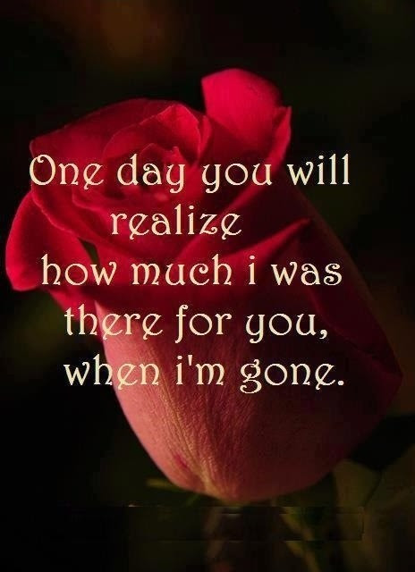 One Day You Will Realize Quote Quote Number 608650 Picture Quotes