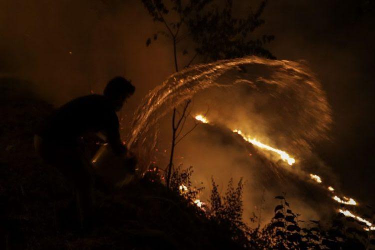 Resultado de imagem para Homem morre carbonizado em queimada descontrolada