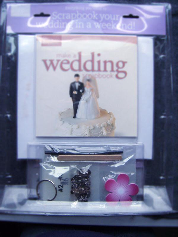 MAKE A WEDDING SCRAPBOOK KIT NEW IN BOX eBay