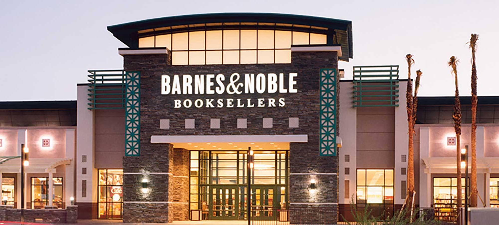 Back to Books at Barnes Noble Shelf Awareness