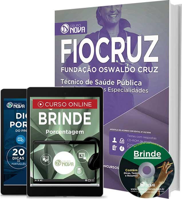 Apostila Fiocruz Técnico Fundação Oswaldo Cruz