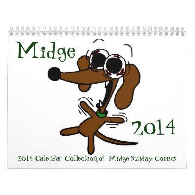 Midge Comics 2014 Calendar