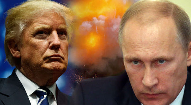 putin warns trump over the syrian airstrikes by the us