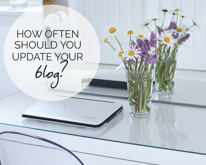 How often should you update your blog