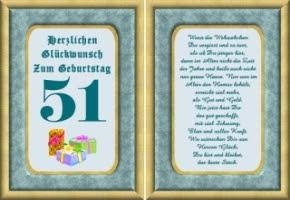 Bilder Und Sprüche Zum 51 Geburtstag Hylen Maddawards Com
