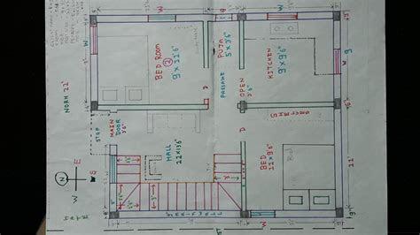 north west house plan map naksha details youtube