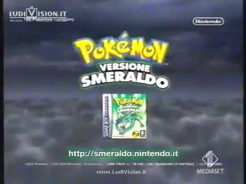 Nintendo Game Boy Advance SP - Pokémon Smeraldo (2005)