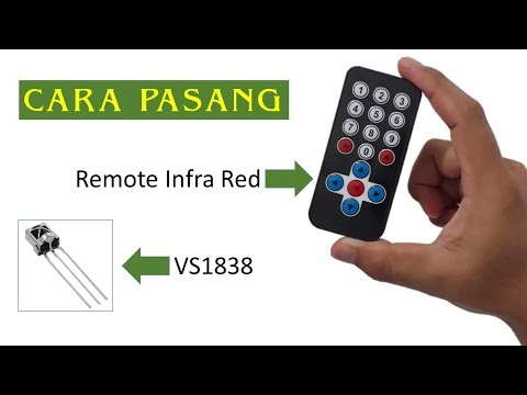 Cara Pasang Remote Infra Red Sensor VS1838