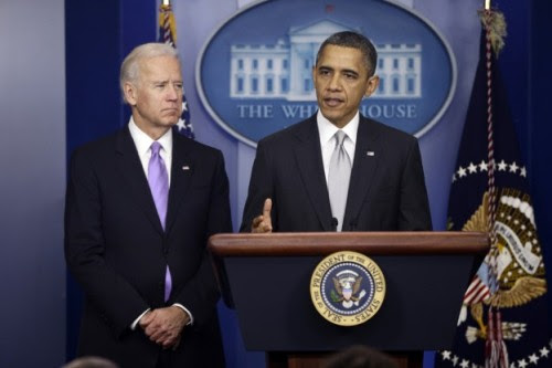 """Today, President Obama announced sweeping set of policies, including 23 executive orders, aimed at reducing gun violence. The unveiling was the result of the Joe Biden-led task force Obama formed last month in the wake of the Sandy Hook shootings, and proposed policies include an assault weapons ban, universal background checks, and improved access to mental health care. The Washington Post calls it """"the most expansive gun-control policies in a generation,"""" and the fact that the president issued no less than 23 executive orders suggests that he wants to avoid congress as much as possible with this (which, given his first term, is understandable). Here's the flashy White House document outlining the proposals, here's a list of the executive orders (one of which, somewhat amusingly, is """"Nominate an ATF director""""), and here's audio of the event (courtesy of Matt Keys). Photo credit: AP source"""