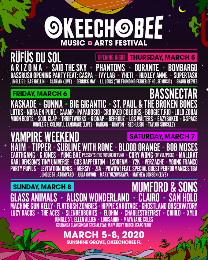 Okeechobee Reveals Vampire Weekend PoWoW! Super Jam