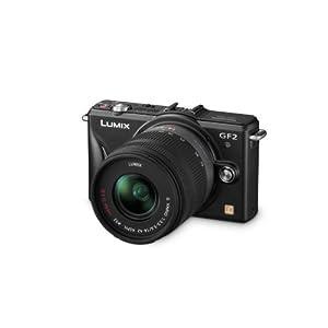 5ecedef9daf Amazon offers the Panasonic LUMIX DMC-GF2 12.1-Megapixel Micro Four Thirds  Mirrorless Digital Camera bundled with a Panasonic LUMIX 14-42mm Lens in  Black