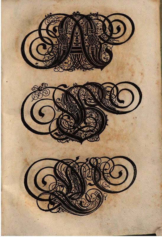 Paulus Franck - 'Schatzkammer Allerhand Versalien Lateinisch vnnd Teutsch', 1601 alphabet g