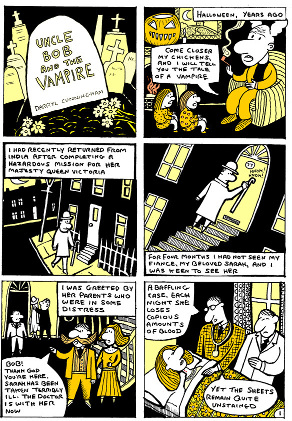Uncle Bob And The Vampire (Original Page)