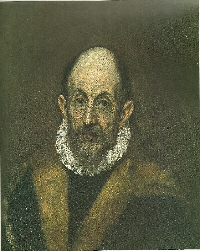 Download self-portrait El Greco Malmo Sweden Oil Painting Reproductions 64070