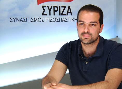 O υποψήφιος δήμαρχος Αθηναίων με τον ΣΥΡΙΖΑ Γαβριήλ Σακελλαρίδης