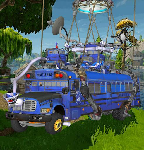 fortnite battle royale battle bus xnalara model by chutesto12new fortnite bus real life prepare to - fortnite bus real life