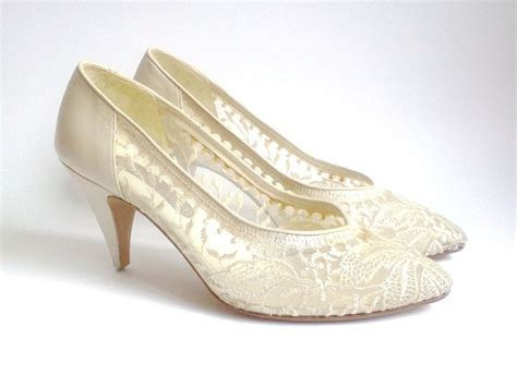 24 best images about Vintage Wedding Shoes on Pinterest
