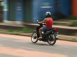 Moto Cinquentinha Santarém (Foto: Reprodução/TV Tapajós)