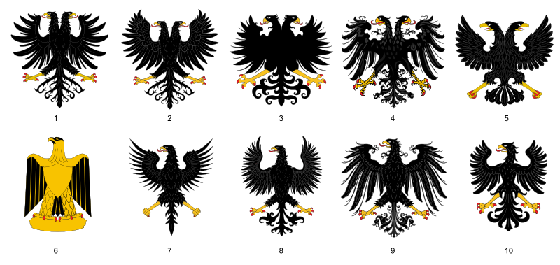 File:Aguilas heráldicas.svg