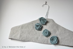 fabric roses - DIY Gift Ideas