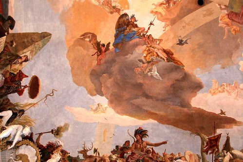Tiepolo fresco in the Residence, Wurzburg, Germany by Alaskan Dude