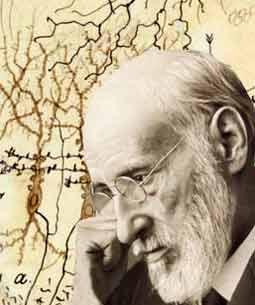 Autorretrato. Fotografía de Santiago Ramón y Cajal