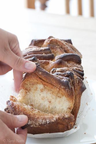 Cinnamon pull-apart bread / Rebitav kaneelisai e. kaneelilõõts