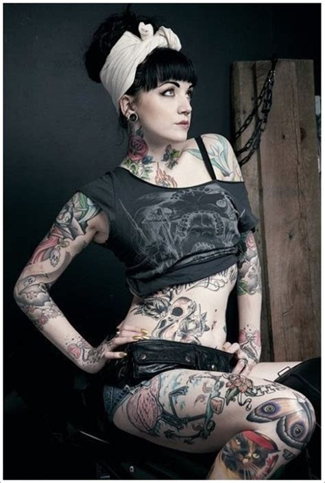 weird full body tattoo designs ideas