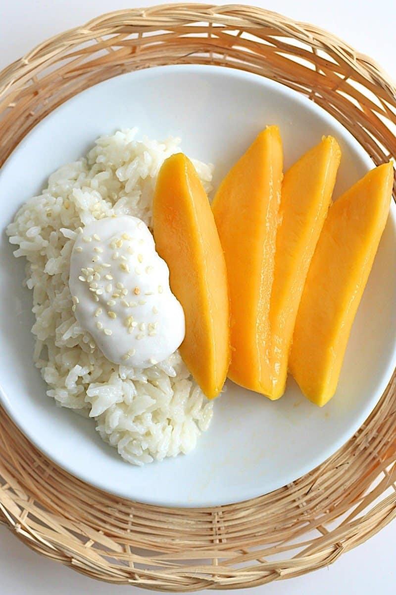Mango Sticky Rice | The BakerMama