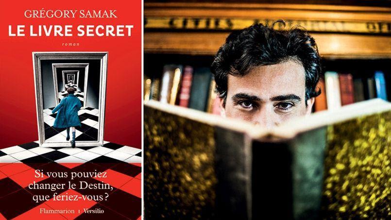 Grégory Samak e la copertina del suo libro per l'incredibile successo.