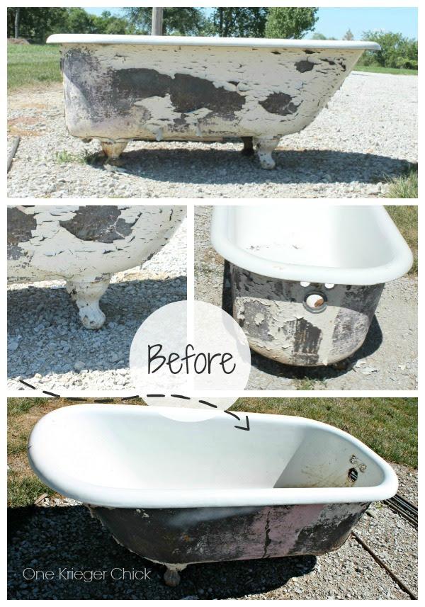 Cast Iron Bathtub To Outdoor Sofa Onekriegerchick