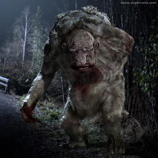 Troll Hunter - Image 5 (model version of Troll)