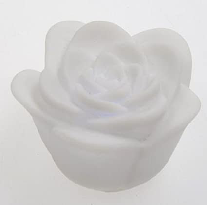 BestDealUSA 7 Color Romantic Changing LED Rose Flower Candle Night Light