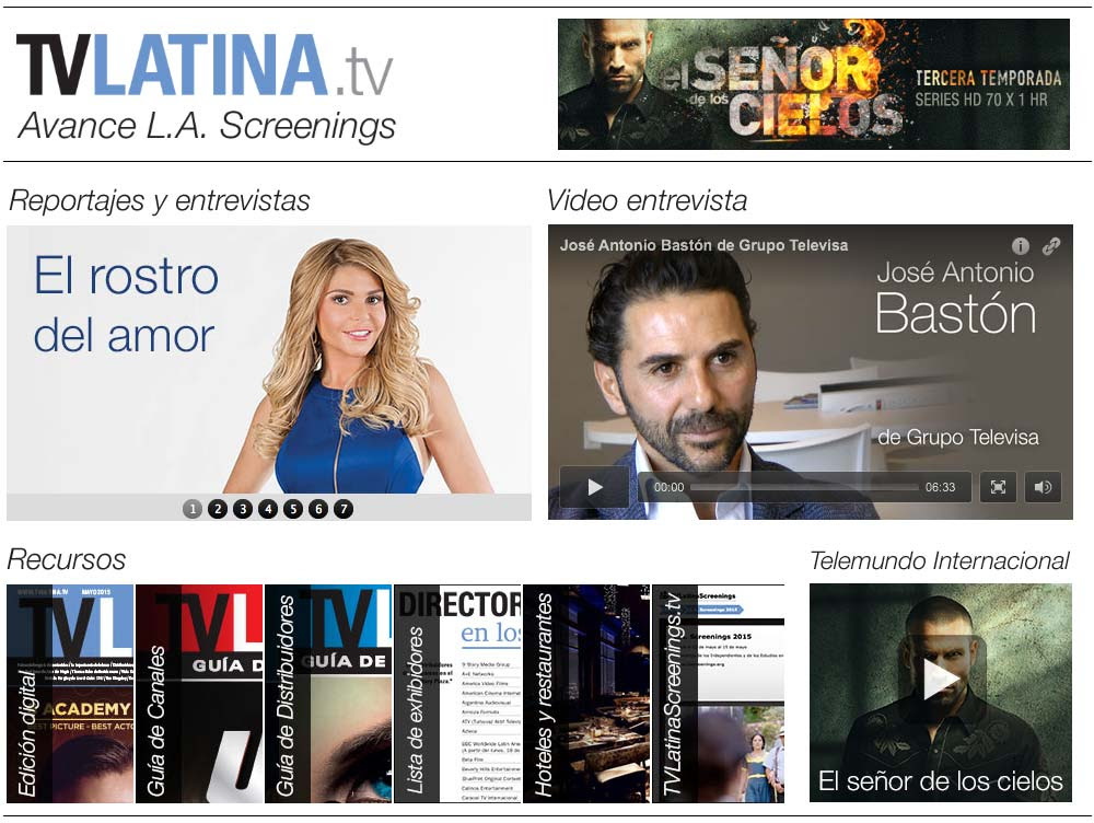 ***Avance de TV Latina para los L.A. Screenings***