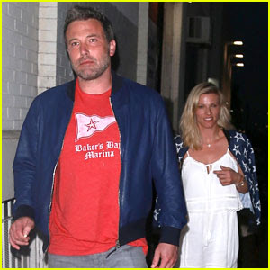 Ben Affleck & Girlfriend Lindsay Shookus Enjoy a Dinner Date in LA
