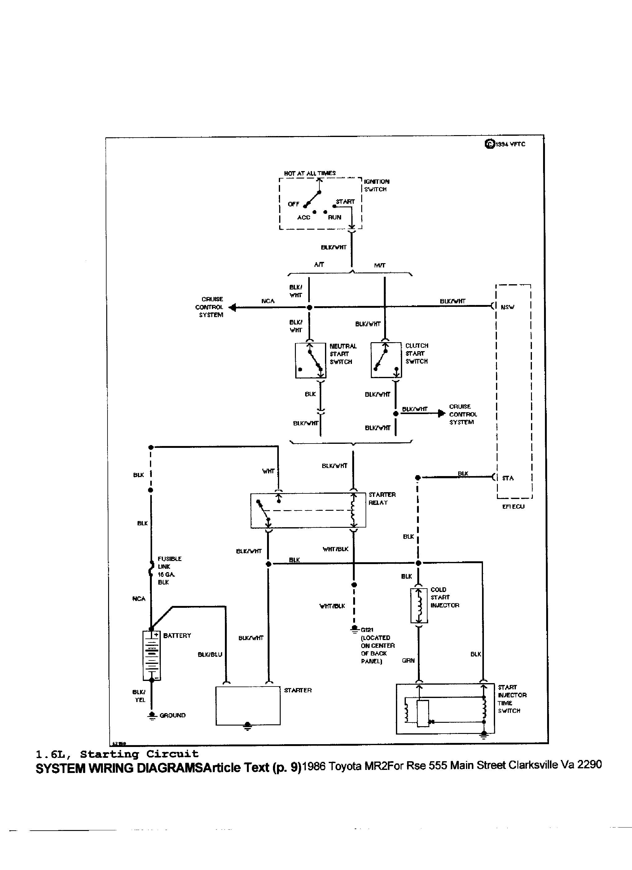 Diagram 1988 Toyota Cressida Wiring Diagram Manual Original Full Version Hd Quality Manual Original Roguediagram Gevim Fr