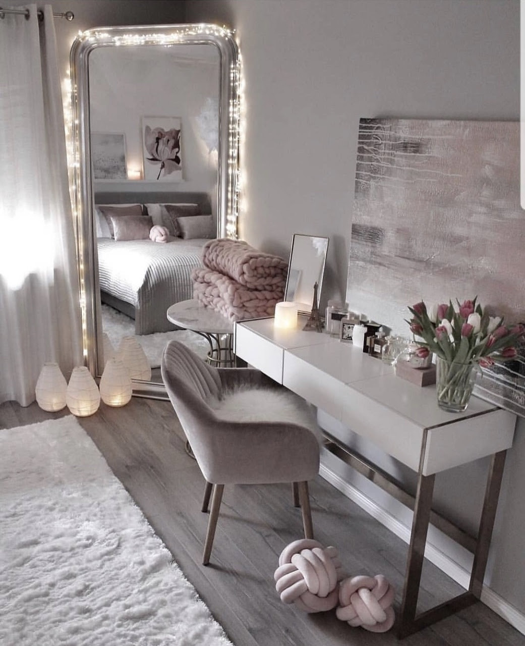 aesthetic, bedroom ideas, decorations and bedroom - image #25