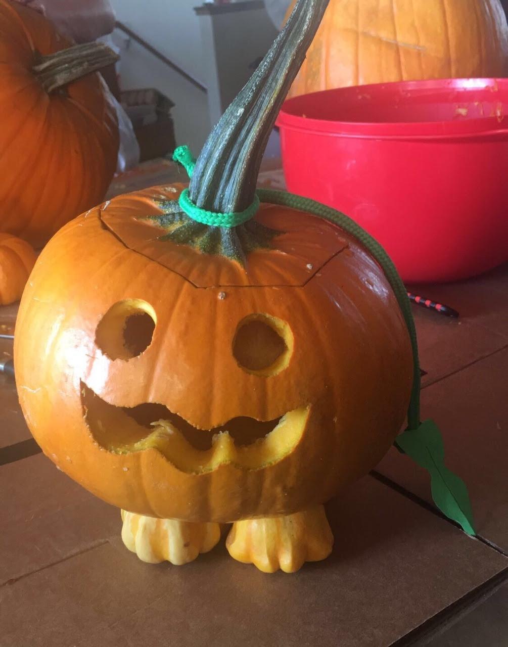 I made Pumpkin from Steven Universe!