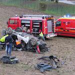 Mussy-sur-Seine : il passe la nuit dans sa voiture accidentée