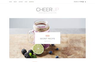CheerUp Slider Blogger Template. Best Free Blogger Template In 2017 For Lifestyle And Fashion Bloggers. Download CheerUp Slider Minimal Blogger Template And Give Your Blog A Fresh And Vivid Look.