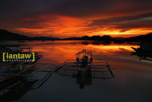 Coron Sunset Bangka 1