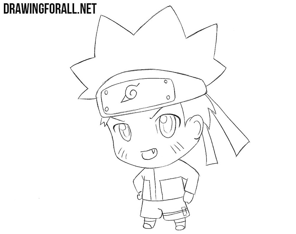 35+ Ideas For Anime Chibi Naruto Drawing Easy
