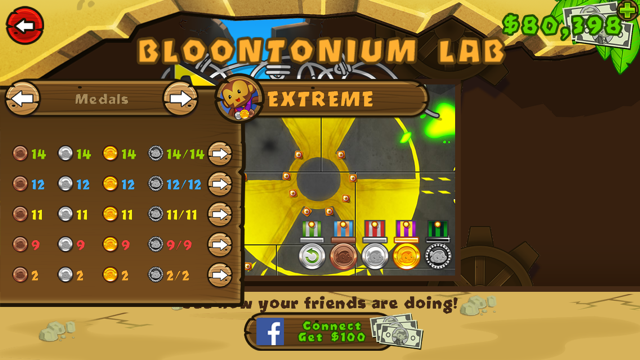 backgroun wall - Bloons Tower Defense 5 Unblocked Hacked Everything