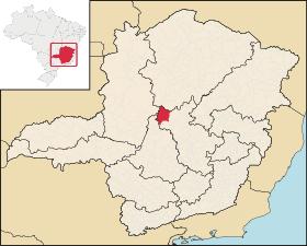 Localização de Três Marias