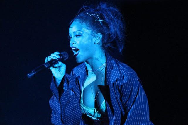 Rihanna est l'artiste féminine la plus écoutée sur... (PHOTO ARCHIVES AP)